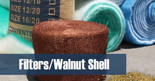 Filters Walnut Shell