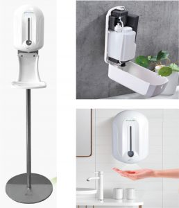 Automated Touch Free Sanitizer Dispenser